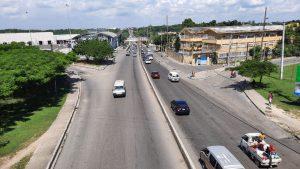 Obras Públicas abre el tránsito por el puente Francisco J. Peynado
