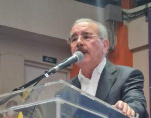 Danilo dice PLD impedirá el pueblo vuelva a lapobreza; asegura el país será morado en el 2024