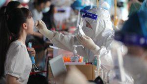 China detecta 25 nuevos casos de covid, 9 de ellos por contagio local