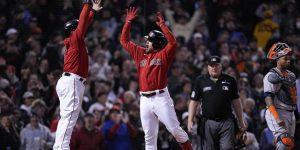VIDEO: Los Medias Rojas vuelven al ataque y destrozan a los Astros en la Serie de Campeonato de la Americana