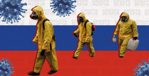 Rusia vuelve a registrar récord de muertes por covid-19 con 1.015 en un día