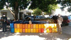 Cesfront decomisa 229 galones de gasolina que serían trasladados hacia Haití