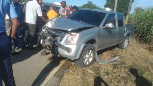 Accidente de tránsito deja una persona fallecida en San Rafael del Yuma, La Altagracia