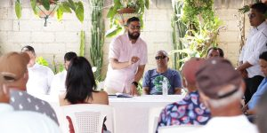 Dirigente PRM visita La Vega donde pide a jóvenes integrarse al partido