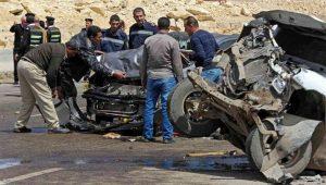 Mueren al menos 17 personas al chocar un autobús y un camión en Egipto