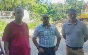 Moradores del sector Los Jardines protestan por construcción de antena