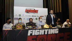 Fighting Force anuncia cartelera de MMA para el 27 de noviembre