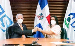 DIDA y TSS pactan colaboración a favor de afiliados al sistema de la Seguridad Social