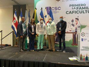 Director Indocafé participa simposio en El Salvador