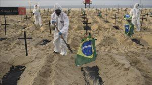 Brasil supera las 605.000 muertes por covid y los 21,7 millones de contagios