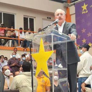 Danilo Medina encabezará acto del PLD en La Vega
