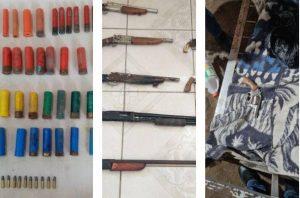 Armas, droga y municiones decomisadas durante estado de excepción en Ecuador