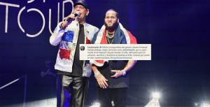 """Abinader felicita a El Alfa por su concierto en Madison Square: """"Gracias por poner en alto la bandera"""""""