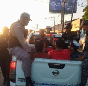 Regional SDO de la Policía realiza 8 allanamientos en prevención del crimen