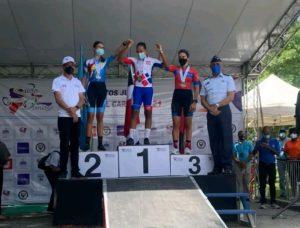 Pedalistas Fernández y Espiritusanto ganan oro en Campeonato del Caribe de ciclismo