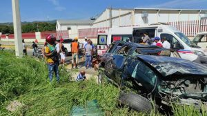 Accidente de tránsito deja siete nacionales haitianos heridos en Santiago