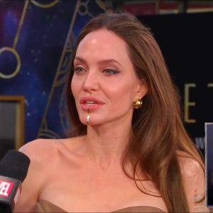 """Angelina Jolie: """"Es importante apoyar a los sindicatos"""" de Hollywood"""