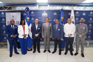 Mipymes amplían conexiones comerciales en rueda de negocios del MICM, Unión Europea, ONEC y Dominicana Compite