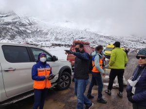 Al menos cuatro muertos por avalancha en la montaña más alta de Ecuador