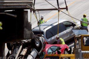 Choque masivo en Florida involucra a 15 vehículos y envía a seis al hospital