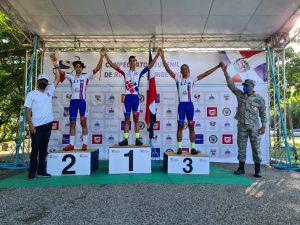 Fernández y Espiritusanto monarcas del Campeonato del Caribe de Ciclismo