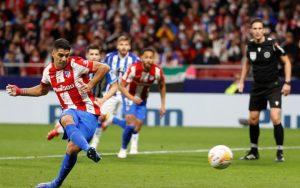 El VAR rescata al Atlético ante la Real Sociedad