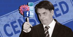 Facebook retira el vídeo en que Bolsonaro vincula vacuna anticovid al sida
