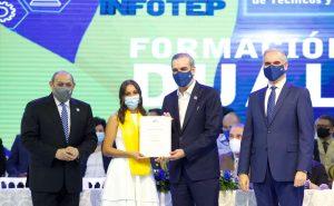 Infotep se propone para el 2022 formar 15 mil técnicos en carreras requeridas por el sector productivo
