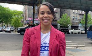 (VIDEO) Dominicana Pierina Sánchez asegura llevaría estabilidad de vivienda a toda la comunidad de El Bronx