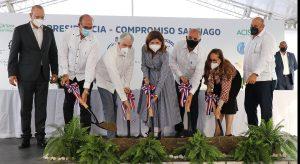 Inician proyectos de saneamiento del río Yaque del Norte y revalorización del Centro histórico de Santiago